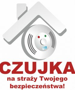 logo czujka na straży Twojego bezpieczeństwa!